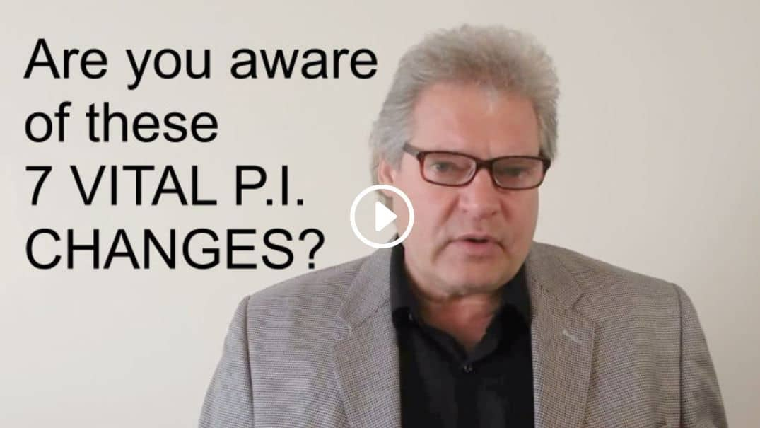 7 Vital PI Changes